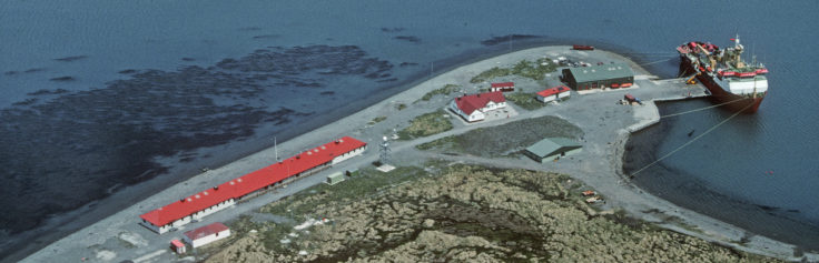 King Edward Point Research Station, South Georgia.