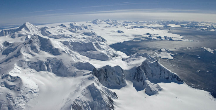 Rothera Station can be found towards the top right of this image , see it?