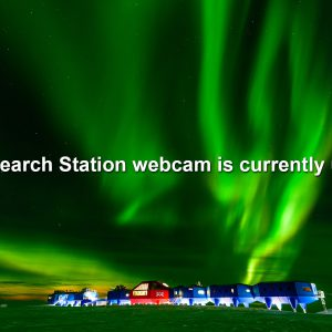 View the live webcam for Halley VI Research Station