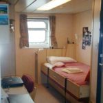 RRS James Clark Ross 2nd Officer's cabin