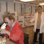 RRS James Clark Ross chemistry lab