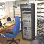 RRS James Clark Ross computer operations room