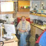 RRS James Clark Ross electronics workshop