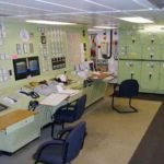 RRS James Clark Ross engine control room
