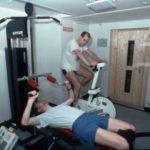 RRS James Clark Ross gym