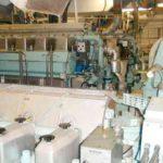 RRS James Clark Ross propeller shaft number two hold main alternator room