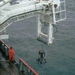 RRS James Clark Ross midships gantry