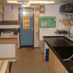 RRS James Clark Ross preparation lab (port)
