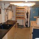 RRS James Clark Ross preparation lab (starboard)