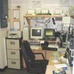 RRS James Clark Ross radio room
