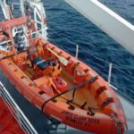 RRS James Clark Ross rescue boat