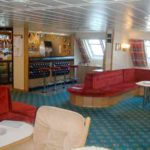 RRS James Clark Ross scientists' and officers' lounge