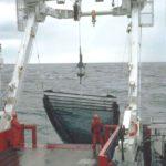 RRS James Clark Ross stern gantry