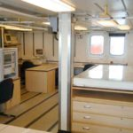RRS James Clark Ross underway instrument and control room (port)