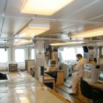 RRS James Clark Ross underway instrument and control room (starboard)