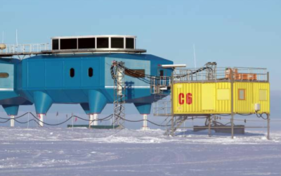C6 Caboose at Halley, which houses the microwave radiometer