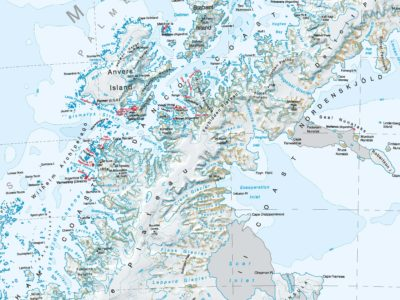 Topographic maps British Antarctic Survey