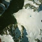 Aerial photograph of part of the Antarctic Peninsula
