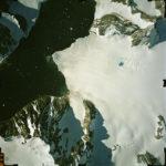 Aerial photograph of part of the Antarctic Peninsula