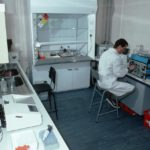 Laboratory at Signy Research Station