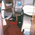 RRS Ernest Shackleton bunk room
