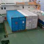RRS Ernest Shackleton containers