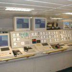 RRS Ernest Shackleton engine control room