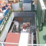 RRS Ernest Shackleton forward cargo hatch