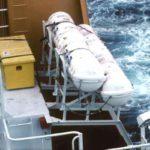 RRS Ernest Shackleton inflatable liferafts