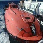 RRS Ernest Shackleton lifeboat