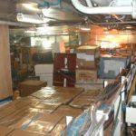RRS Ernest Shackleton main cargo hold (aft)