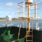 RRS Ernest Shackleton satellite communications