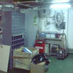 RRS Ernest Shackleton scientific store (view 2)
