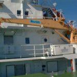 RRS Ernest Shackleton stores crane