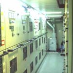 RRS Ernest Shackleton switchboard room