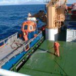 RRS Ernest Shackleton tula workboat