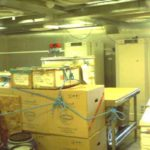 RRS Ernest Shackleton wet lab view 1