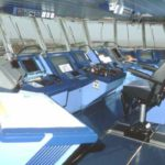 RRS Ernest Shackleton wheelhouse view 1
