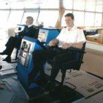 RRS Ernest Shackleton wheelhouse view 2