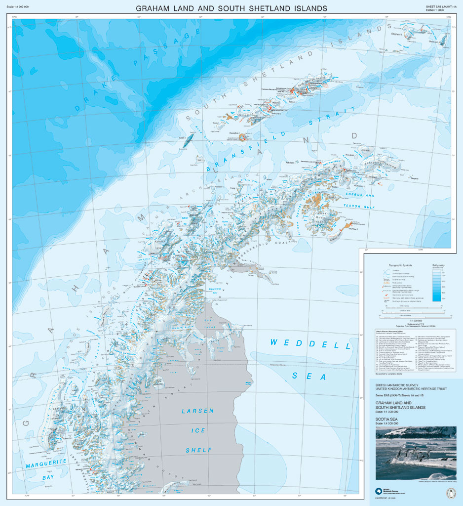 Maps British Antarctic Survey