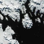 Landsat satellite image of part of the Antarctic Peninsula