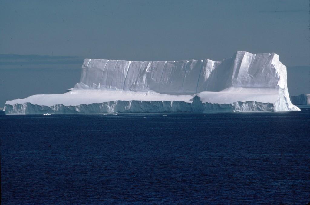 Tabular iceberg in the Weddell Sea