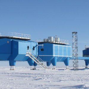 The British Antarctic Survey new research station 2013 Feb Halley VI