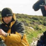 Windfall films production company filming Lloyd Peck on location in The Falkland Islands.  They produced Lloyd Peck's Royal Institute Christmas Lectures 2004.