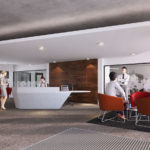 Artist impression of the BAS Aurora Innovation Centre reception