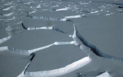 The break up of Wilkins Ice Shelf
