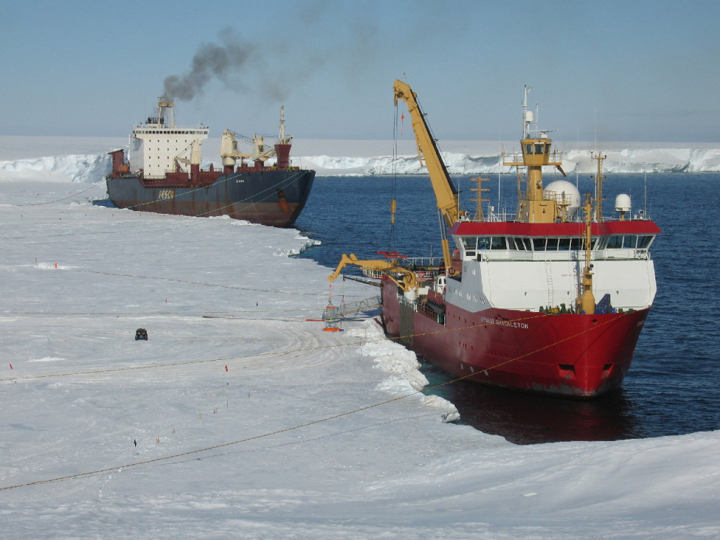 RRS E. Shackleton & Igarka