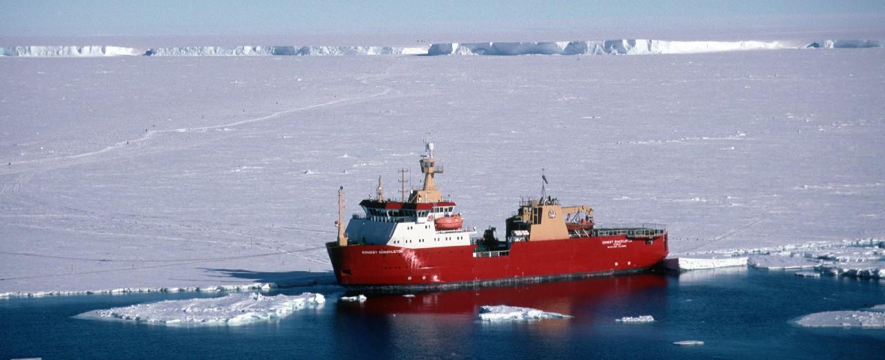 RRS Ernest Shackleton - British Antarctic Survey