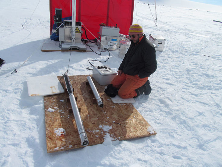 Ice coring engineer Dr Julius Rix will talk about Engineering in a Cold Climate