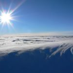 Surface snow exposed to sun light on the East Antarctic Plateau (Credit: Markus Frey)